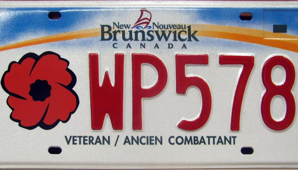 veterans plates