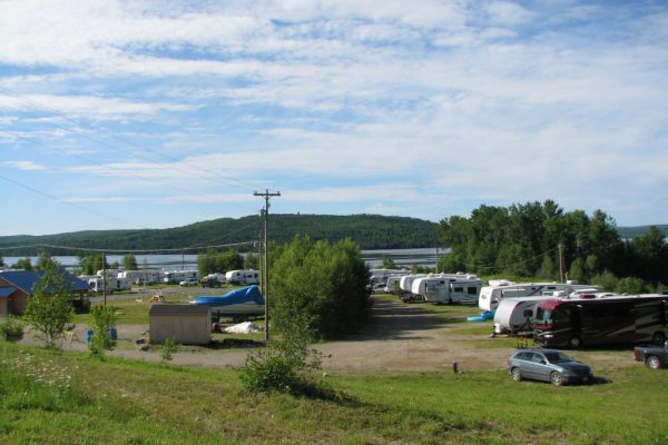 mariners point campground background