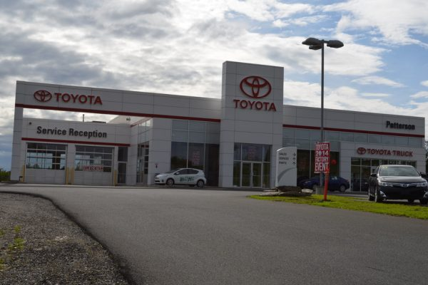 patterson toyota background