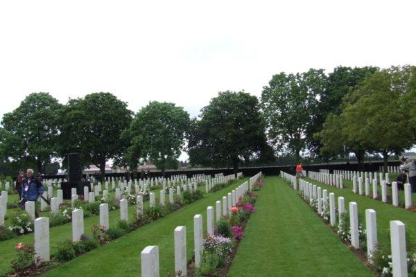Bretteville-sur -Laize Cemetery