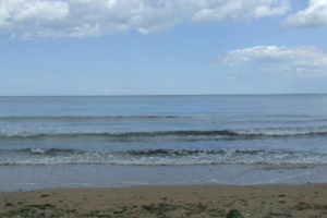 looking out to sea from the beach....so peaceful today